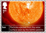 Space Science 1st Stamp (2012) Sun