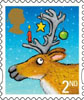 Christmas 2012 2nd Stamp (2012) Reindeer