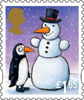 Christmas 2012 £1.65 Stamp (2012) Penguin and Snowman