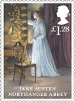 Jane Austen £1.28 Stamp (2013) Northanger Abbey