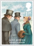 Jane Austen £1.28 Stamp (2013) Persuasion