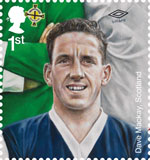 Football Heroes 1st Stamp (2013) Dave Mackay
