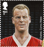 Football Heroes 1st Stamp (2013) John Charles