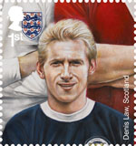 Football Heroes 1st Stamp (2013) Denis Law