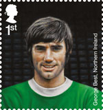 Football Heroes 1st Stamp (2013) George Best
