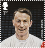 Football Heroes 1st Stamp (2013) Jimmy Greaves