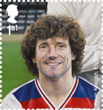 Football Heroes 1st Stamp (2013) Kevin Keagan
