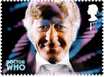 Classic TV - 50 Years of Doctor Who 1st Stamp (2013) Jon Pertwee