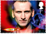 Classic TV - 50 Years of Doctor Who 1st Stamp (2013) Christopher Eccleston