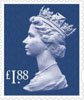 New Definitives 2013 �1.88 Stamp (2013) �1.88 Sapphire Blue