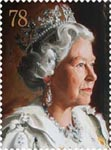 Royal Portraits 78p Stamp (2013) Portrait by Andrew Festing 1999