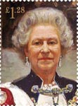 Royal Portraits �1.28 Stamp (2013) Portrait by Sergei Pavlenko 2000