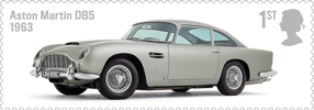 British Auto Legends 1st Stamp (2013) Aston Martin DB5, 1963