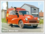 British Auto Legends 1st Stamp (2013) Morris Minor Van