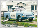 British Auto Legends 1st Stamp (2013) Ford Anglia 105E
