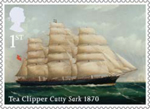 Merchant Navy 1st Stamp (2013) Tea Clipper Cutty Sark 1870