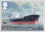 Merchant Navy �1.28 Stamp (2013) Bulk Carrier Lord Hinton 1986