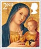 Christmas 2nd Stamp (2013) Madonna and Child