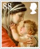 Christmas 88p Stamp (2013) Praying to the Virgin for an End to the Plague