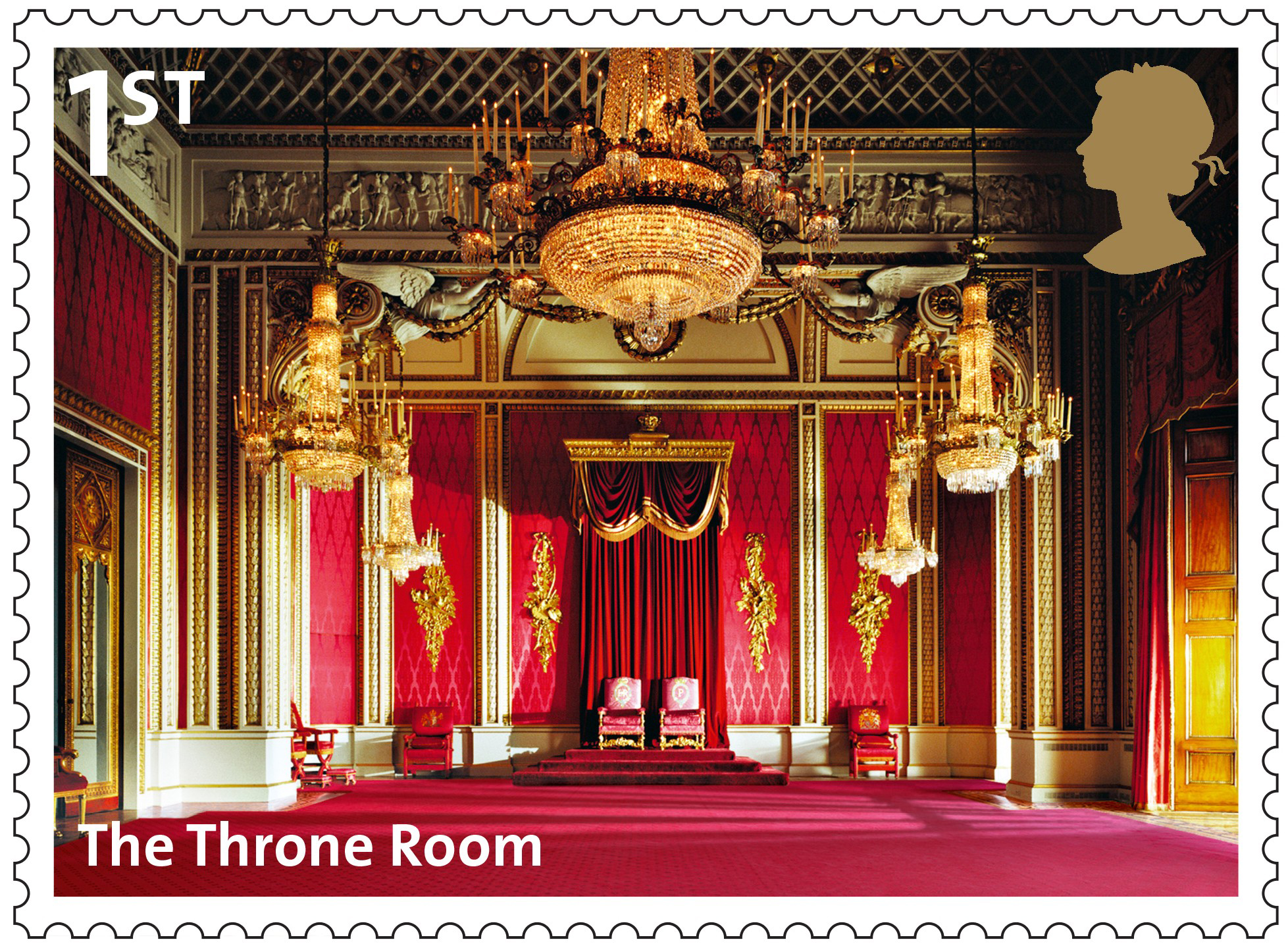 Buckingham Palace (2014) : Collect GB Stamps