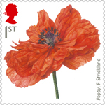 The Great War - 1914 1st Stamp (2014) Poppy