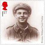 The Great War - 1914 1st Stamp (2014) Portrait