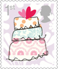 Smilers 2015 1st Stamp (2015) Wedding