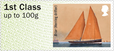 Post & Go : Working Sail 1st Stamp (2015) Briar
