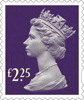 Definitives 2015 £2.25 Stamp (2015) Plum Purple