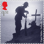 First World War - 1915 1st Stamp (2015) Memorials