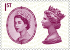 Long to Reign Over Us 1st Stamp (2015) Dorothy Wilding's Portrait