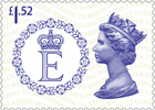 Long to Reign Over Us £1.52 Stamp (2015) The Queen's Personal Flag
