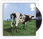 Pink Floyd 1st Stamp (2016) Atom Heart Mother