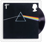 Pink Floyd 1st Stamp (2016) The Dark Side of the Moon