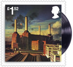 Pink Floyd £1.52 Stamp (2016) Animals