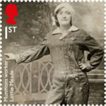 The Great War - 1916 1st Stamp (2016) Munitions Worker Lottie Meade