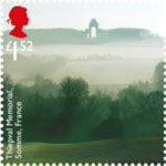 The Great War - 1916 £1.52 Stamp (2016) Thiepval Memorial, Somme, France