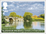 Landscape Gardens 2nd Stamp (2016) Blenheim Palace - Capability Brown