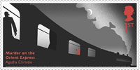 Agatha Christie 1st Stamp (2016) Murder on the Orient Express