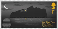 Agatha Christie 1st Stamp (2016) And Then There Were None