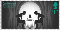 Agatha Christie £1.33 Stamp (2016) The Mysterious Affair at Styles