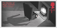Agatha Christie £1.33 Stamp (2016) The Murder of Roger Ackroyd