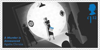 Agatha Christie £1.52 Stamp (2016) A Murder is Announced