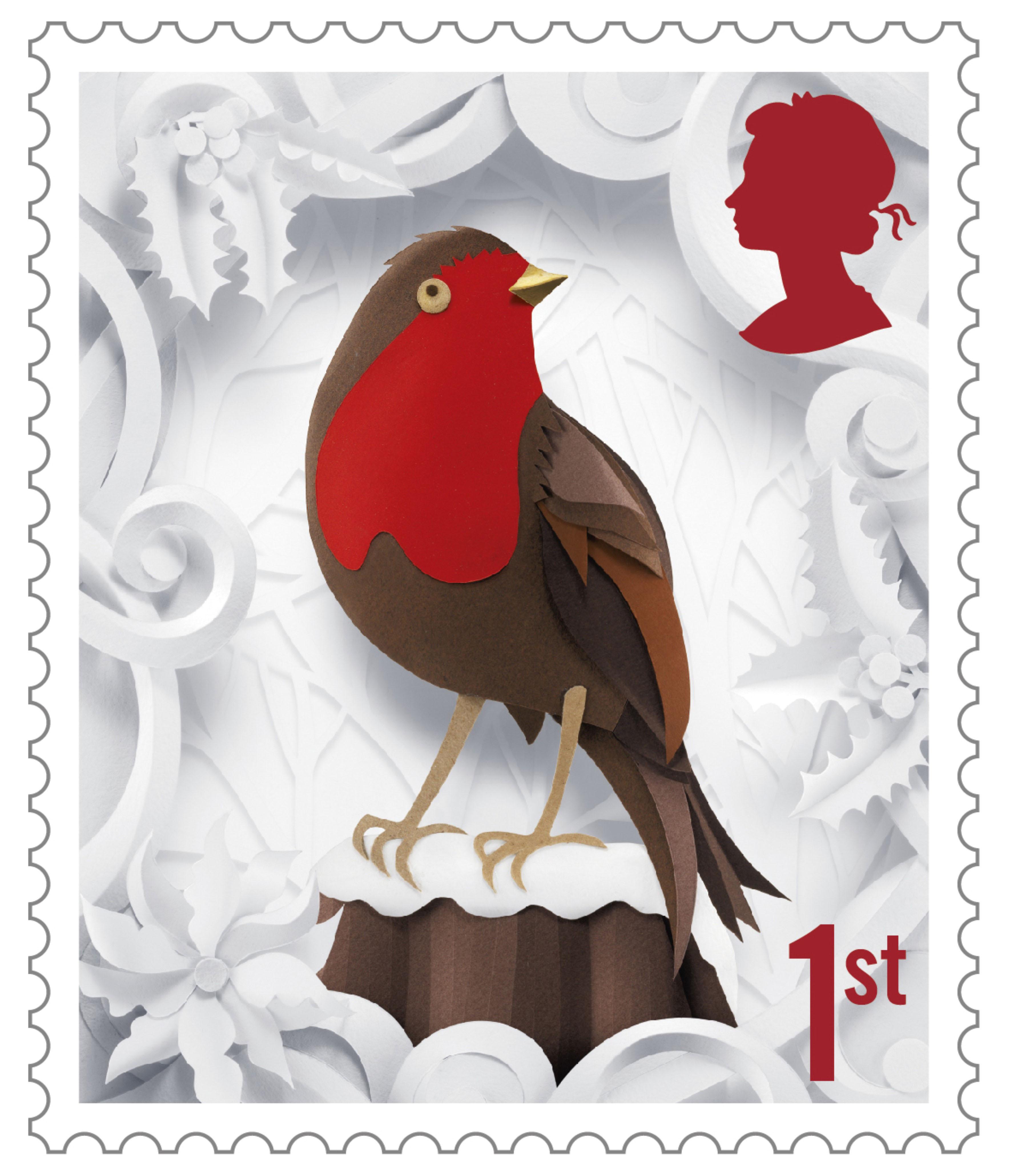 Us Postage Christmas Stamps