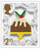 Christmas 2016 £2.25 Stamp (2016) Christmas Pudding