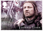 Game of Thrones 1st Stamp (2018) Eddard Stark