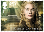 Game of Thrones 1st Stamp (2018) Cersei Lannister