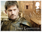 Game of Thrones 1st Stamp (2018) Jaime Lannister