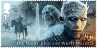 Game of Thrones 1st Stamp (2018) The Night King and White Walkers