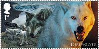 Game of Thrones 1st Stamp (2018) Direwolves
